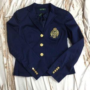 Lauren Ralph Lauren crest pocket blazer
